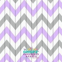 Backdrop - Aztec Mauve Chevron
