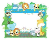 Backdrop - Baby Animal Frame