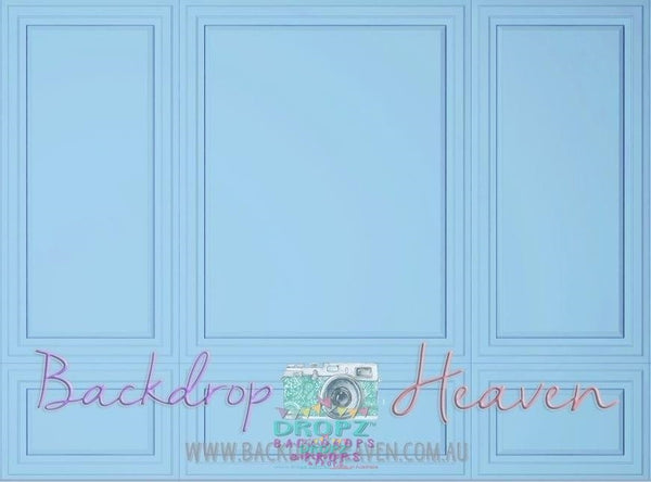 Backdrop - Baby Blue Wall Panel