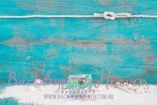 Backdrop - Beach Sand & Rope