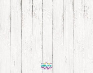Backdrop - Best Seller - White Wooden Floor Backdrop