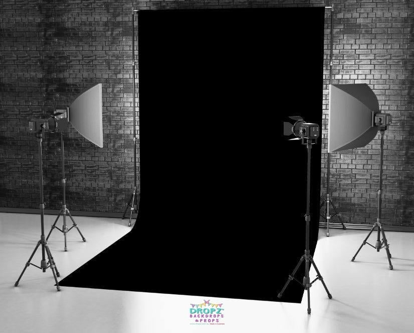 Black Vinyl Photography Backdrop Dropz Backdrops Dropz