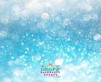 Backdrop - Blue Topaz Bling