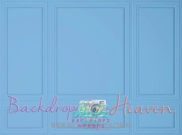 Backdrop - Blue Wall Panel