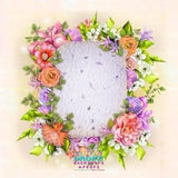 Backdrop - Brianna Floral Wreath
