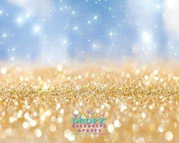 Backdrop - Champagne Glitter Bling