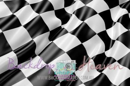 Backdrop - Checkered Flag
