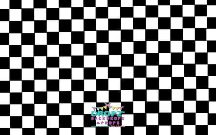 Backdrop - Checkered Floor