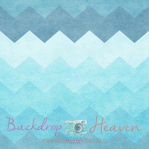 Backdrop - Chevron Ocean