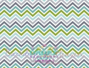 Backdrop - Chevron Retro Boy