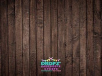 Backdrop - Chocolate Wooden Planks