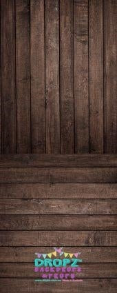 Backdrop - Chocolate Wooden Planks Combo