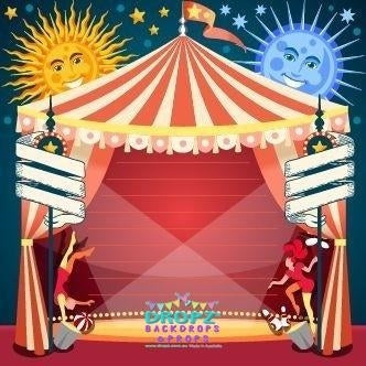 Backdrop - Circus Stage