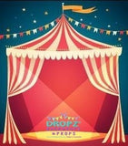 Backdrop - Circus Tent