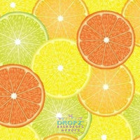 Backdrop - Citrus Fruit Collage