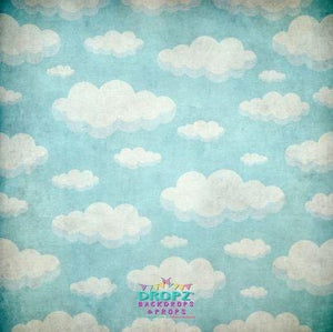 Backdrop - Cloud Portrait