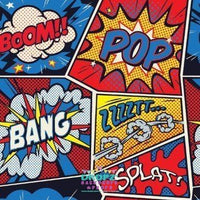 Backdrop - Comic Quotes Backdrop