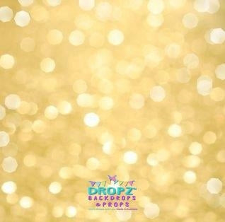 Backdrop - Creamy Gold Bokeh