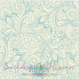 Backdrop - Creamy Paisley