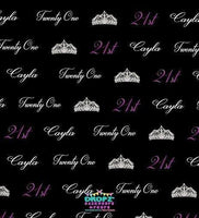 Backdrop - Custom Logo Red Carpet Background