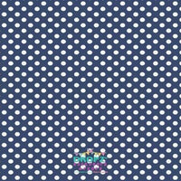 Backdrop - Custom Made In Your Color Choice - Polka Dots