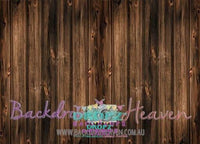 Backdrop - Dark Wooden Essential