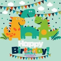 Backdrop - Dinosaur Party
