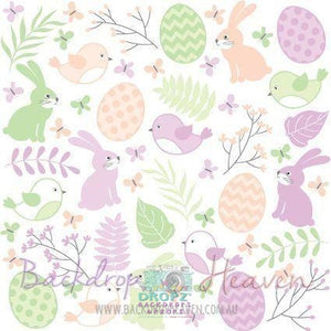 Backdrop - Easter Vinyl Photography Backdrop-12