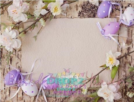 Backdrop - Easter Vinyl Photography Backdrop-37