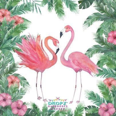 Backdrop - Flamingo Rainforest