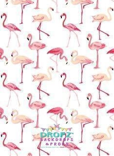 Backdrop - Flamingo Sanctuary