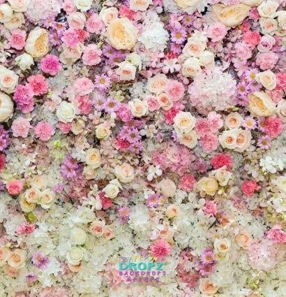 Backdrop - Floral Collage