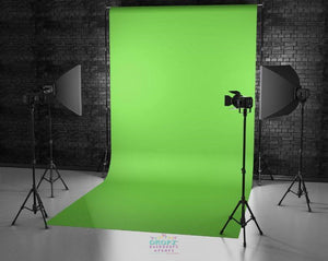 Backdrop - Green Screen Chroma Key Vinyl Backdrop