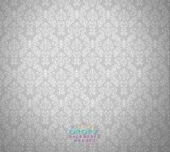 Backdrop - Grey Damask