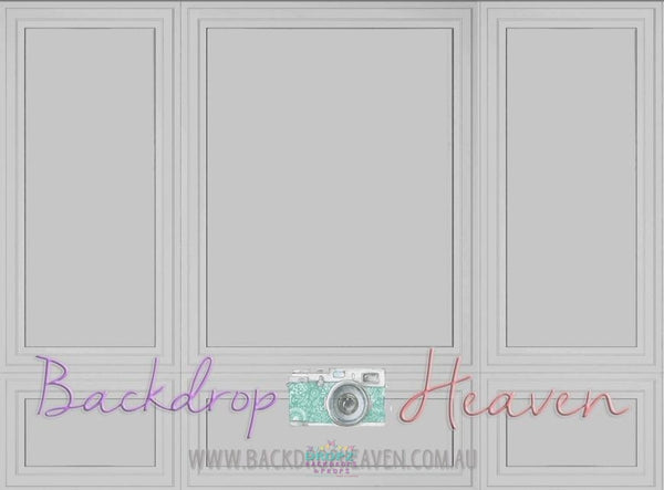 Backdrop - Grey Wall Panel