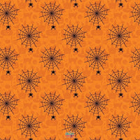 Backdrop - Halloween Spiderweb Backdrop