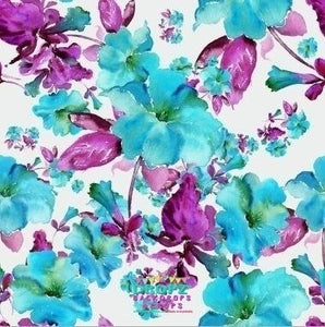 Backdrop - Hand Painted Ava Floral