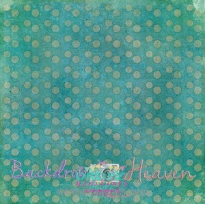 Backdrop - Hand Painted Spots