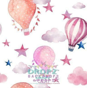Backdrop - Hot Air Balloons