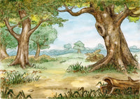 Backdrop - Hundred Acre Woods