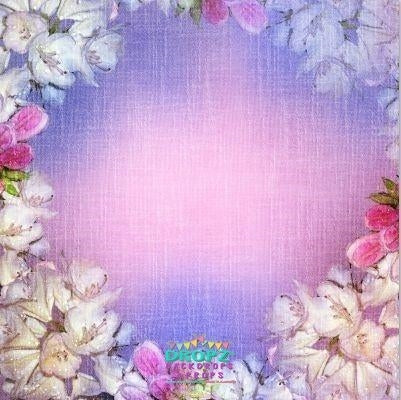 Backdrop - Jamie Floral Wreath