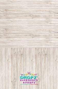 Backdrop - Light Oak Planks All In One