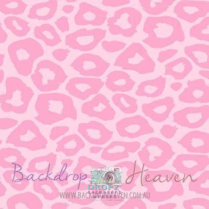 Backdrop - Light Pink Leopard Spots