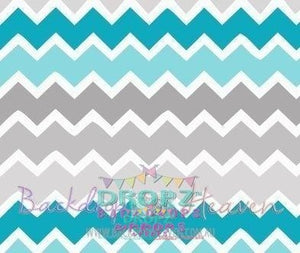 Backdrop - Little Dude Chevron