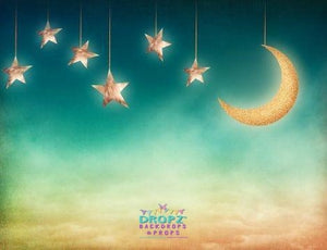 Backdrop - Moon & Star Portrait