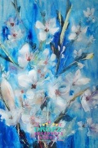 Backdrop - Oil Painted Flowers