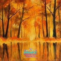 Backdrop - Painted Forest Reflection