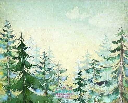 Backdrop - Painted Forrest
