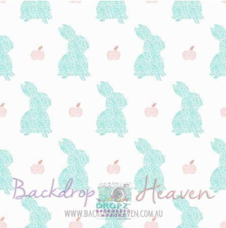Backdrop - Pastel Bunnies
