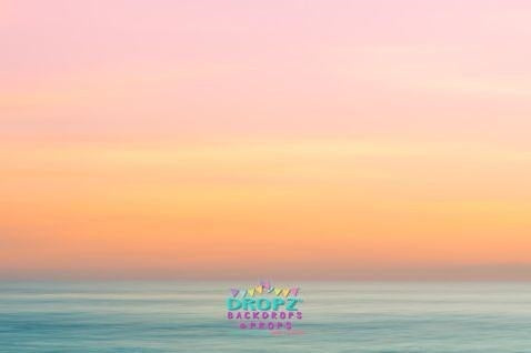 Backdrop - Perfect Pastel Beach Sky